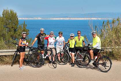 Alghero Cycling Tour Self guided