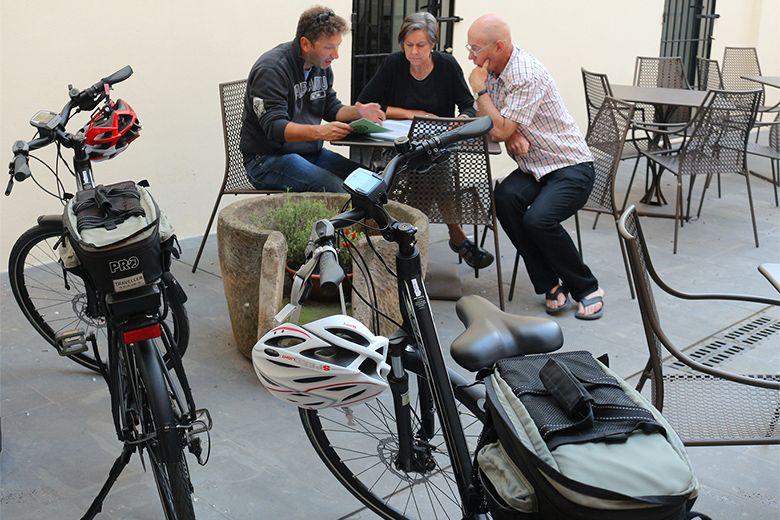 E-bike cycling tour in Europe