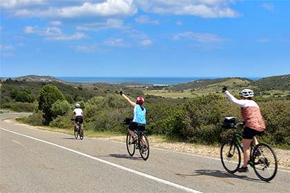 Self guided Cycling Holidays for groups & Families