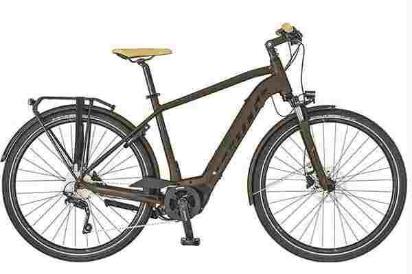 Electric bike for rental